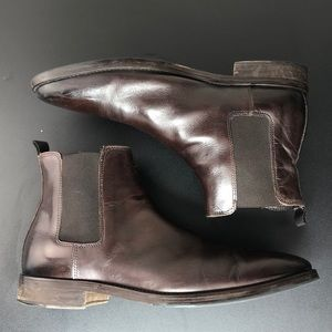 BRUNO MAGLI Men's Cuneo Leather Chelsea Boots 10.5